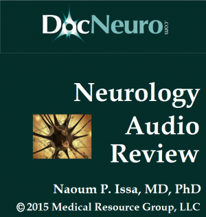 USMLE Neurology Review Audio for the iPhone and Android in MP3 format